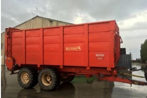 Silage trailer Record