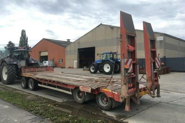 Low loader Dezeure