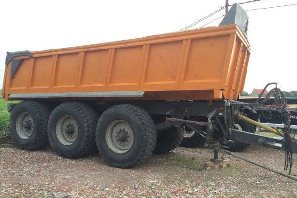 Construction trailer Dezeure